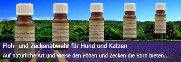 Dieses Bild zeigt die pflanzliche Floh- und Zeckenabwehr Flasche von Reico