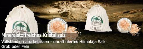 Kirstalsalz oder Meersalz